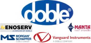Doble Engineering with ENOSERV, Manta, Morgan Schaffer & Vanguard