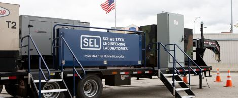 SEL powerMAX System for Mobile Microgrids